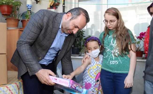 Başkan Tutuk'tan PKU'lu ailelere destek