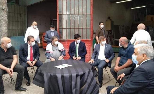 Davutoğlu Yalova'da
