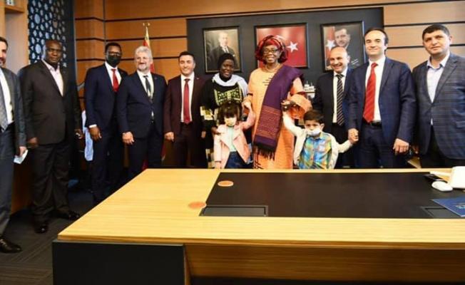 Gambiya Devlet Başkanı Yardımcısı Yalova'da