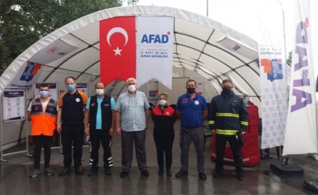 Yalova AFAD'tan deprem ve afet eğitimi