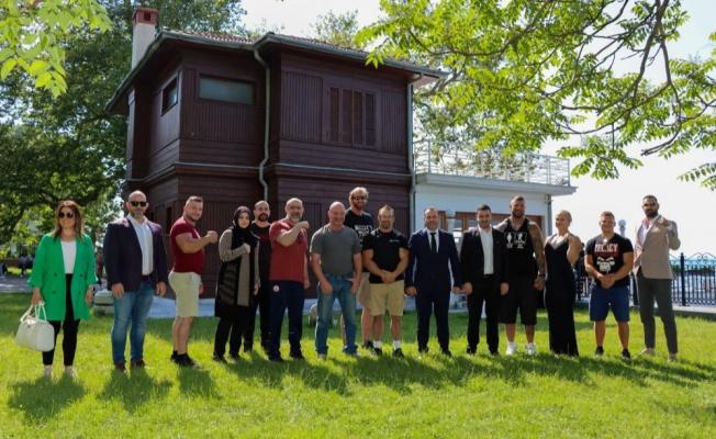Yalova 'Bilek Güreşi'ne ev sahipliği yaptı
