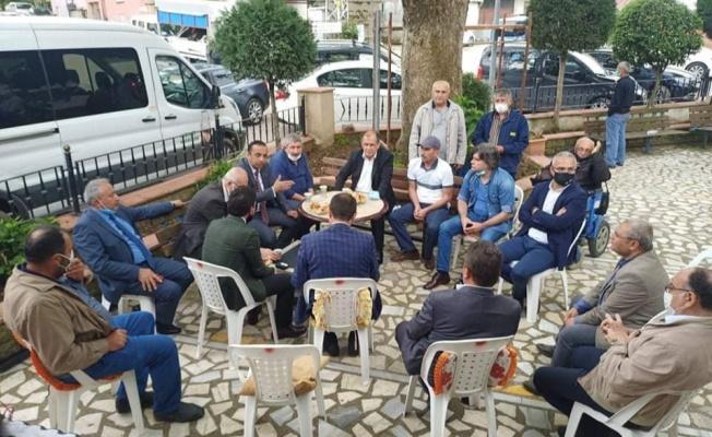 Yalova MHP'den köy ziyaretleri