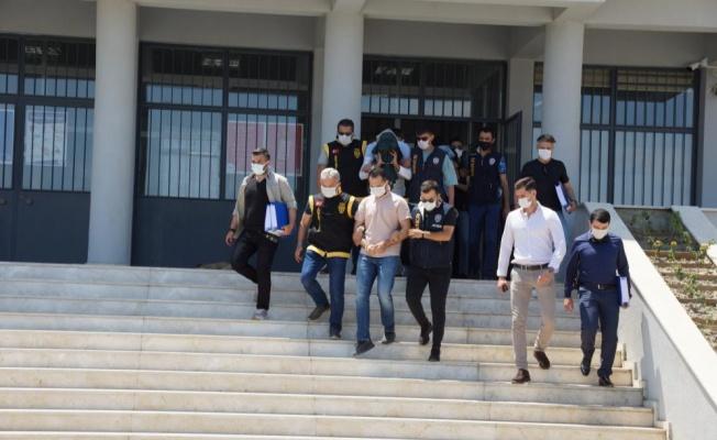 Yalova ve 7 ilde dolandırıcılık yapan 14 kişi tutuklandı