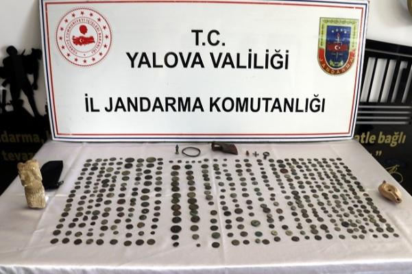 Yalova'da tarihi eser kaçakçılığı