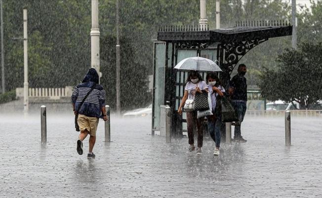 Yalova'ya sağanak yağış yeniden geliyor