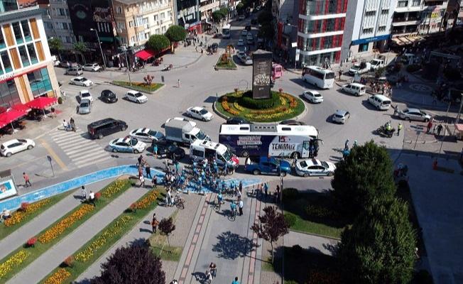 5. Ulusal Bisiklet Turu Yalova'dan geçti