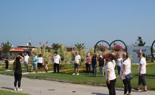 DEVA Yalova'dan sabah yürüyüşü etkinliği