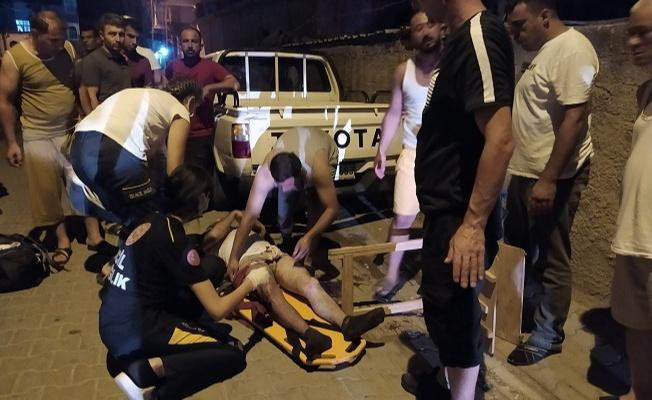Kız alıp verme meselesinden amcasını ve kuzenini ağır yaraladı