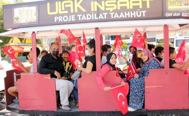 Öğrenciler trenle Çınarcık turu yaptı