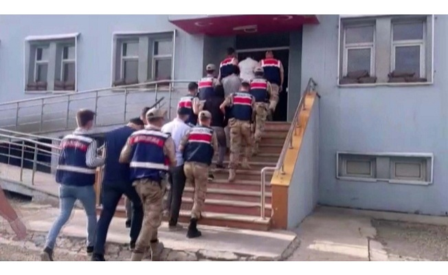 PKK/KCK'ya yardım ve yataklıktan 7 tutuklama