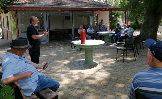 Yalova köylerinde afet bilinci eğitimine başlandı