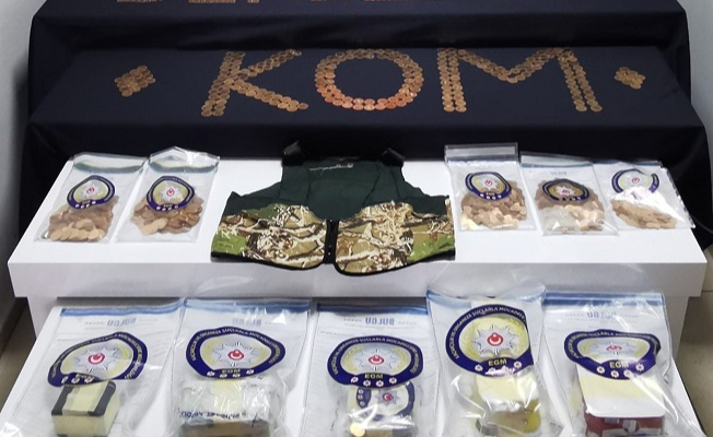 10 milyon TL'lik sahte para ve altın ele geçirildi