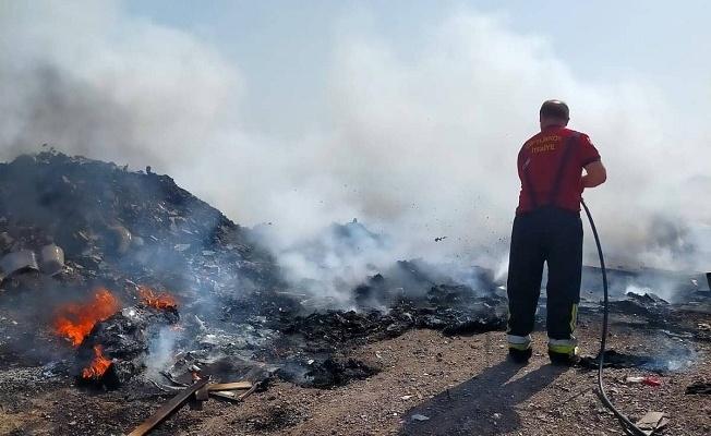Çiftlikköy'de iki günde üç yangın çıktı
