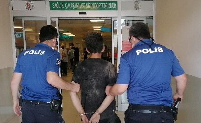 Gözaltına alınan 'suç makinesi' tutuklandı!