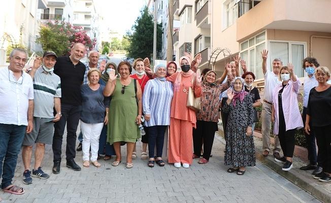 Numan Soyer, Çamlık'ta vatandaşlarla bir araya geldi