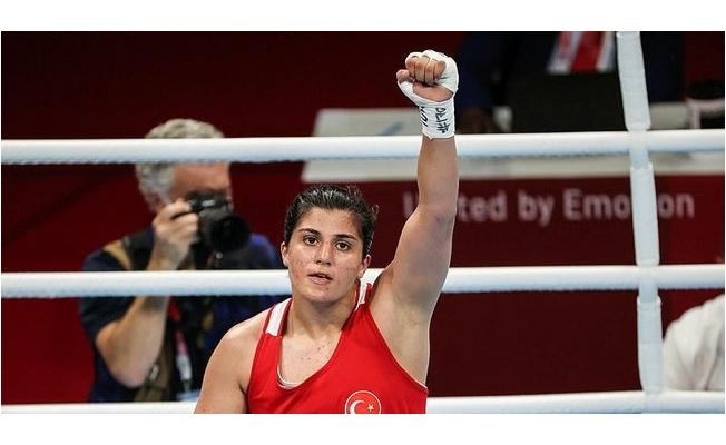 """Olimpiyat finalistimiz Sürmeneli: """"Hayalimdeki finaldeyim"""""""