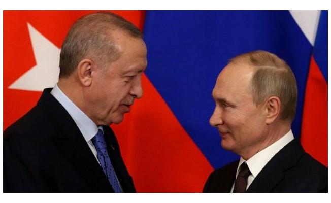 Rusya lideri Putin ile Cumhurbaşkanı Erdoğan Afganistan'ı görüştü