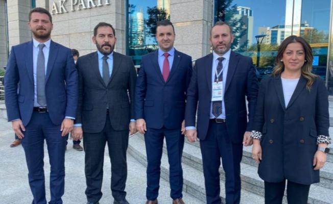 Yalova Belediye Başkanvekili ve AK Partili Başkanlar Ankara'ya gitti