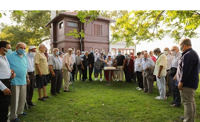 Yalova'nın büyükleri Köşk'te buluştu
