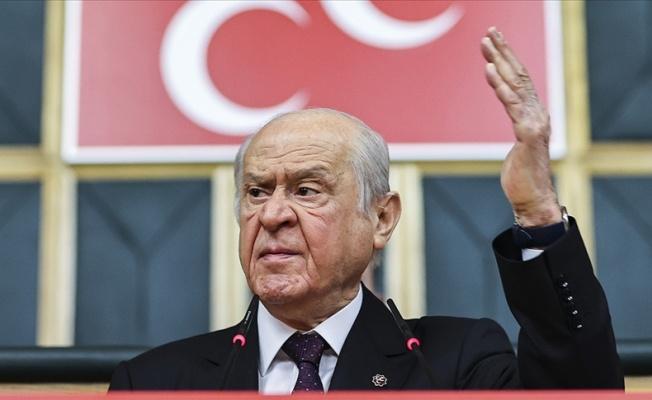 """Bahçeli: """"İP ile CHP, PKK'nın mandası altına girmiştir"""""""