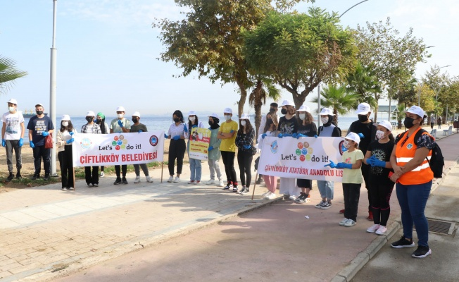 Çevreciler, Çiftlikköy'de önemli mesaj verdi