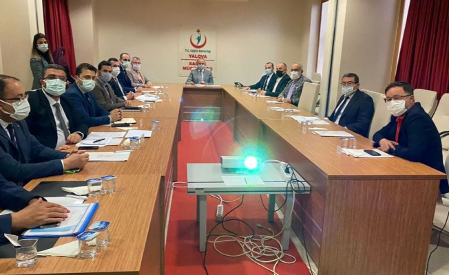 Evde Sağlık Komisyon Toplantısı yapıldı