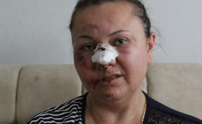 Şiddete uğradı, hareket halindeki araçtan atıldı, hastane kapısına bırakıldı