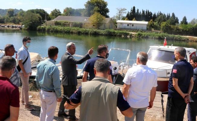 Su Ürünleri Genel Müdürü midye çiftliklerini gezdi