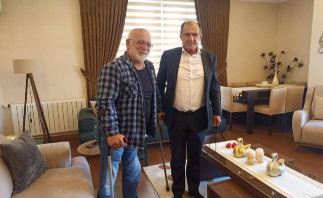 Yalova MHP'den Gazi Kaşıkçı'ya ziyaret