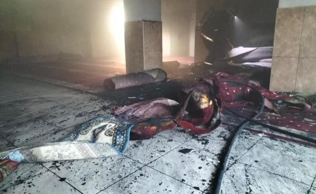 Yalova Yeşil Camii'de korkutan yangın