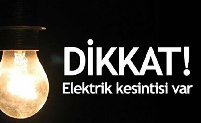 Yalova'da Perşembe günü 3 saat elektrik kesintisi var!