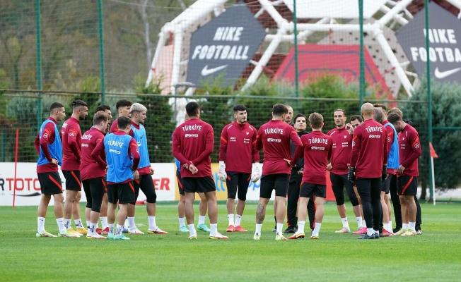 A Milli Takım, Norveç maçı hazırlıklarına devam ediyor