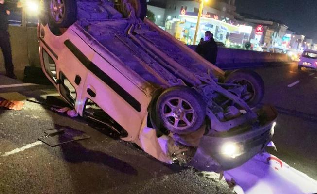 Altınova'da korkutan trafik kazası: 3 yaralı