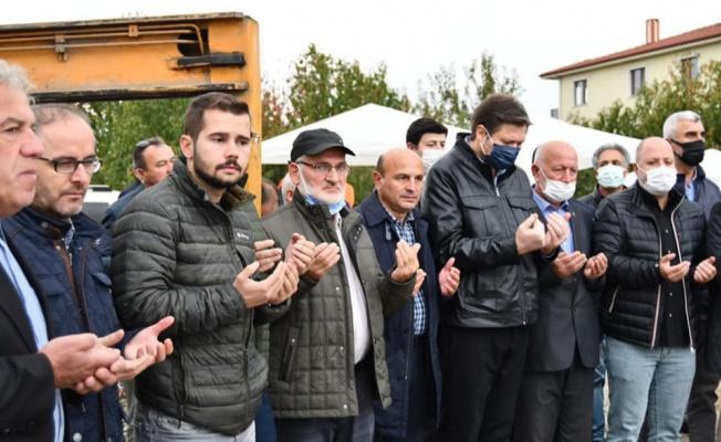 Altınova İmam Hatip Lisesi'nin temeli düzenlenen törenle atıldı