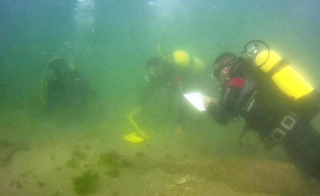 Arkeolojik çalışmalarda batık gemi keşfedildi