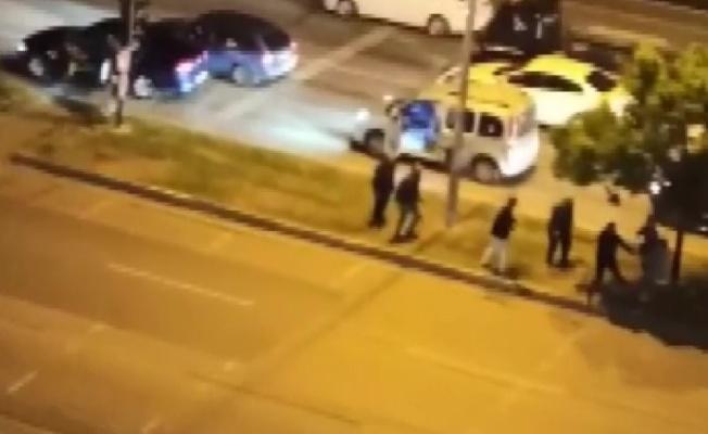 Cadde ortasında meydan muharebesi yaşandı