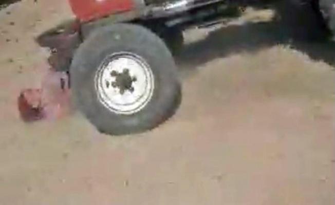 Miras kavgası yüzünden ablalarını traktörle ezdiler