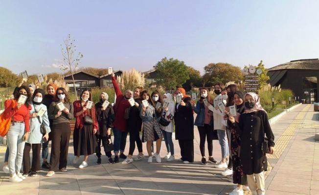 Üniversite öğrencileri Hersek Lagünü'nü ziyaret etti