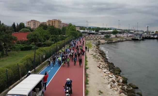 Yalova'ya 37 km'lik dev bisiklet yolu