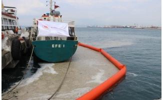 Yalova'da müsilaj temizliği hız kesmiyor