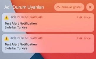 Türkiye'de bazı iPhone'lara acil durum uyarısı gönderildi