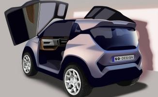 Türkiye'nin yerli elektrikli otomobili 'Amperino'