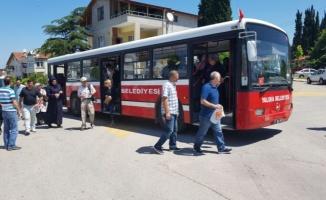 Yalova'da bayramda 6 servis mezarlıklara taşıyacak