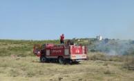 Çiftlikköy'de çıkan yangına erken müdahale
